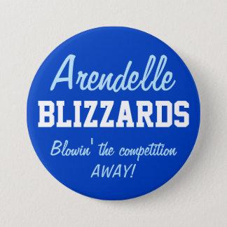 Bóton Redondo 7.62cm Blizzard de Arendelle