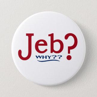 Bóton Redondo 7.62cm Botão 2016 da paródia de Jeb Bush