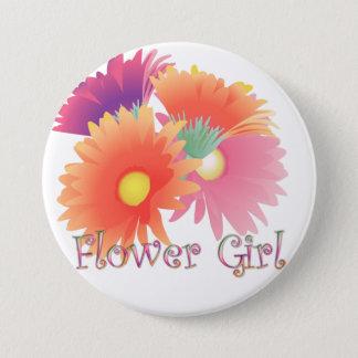 Bóton Redondo 7.62cm Botão brilhante do casamento do florista da