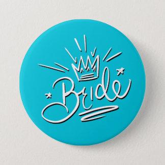 Bóton Redondo 7.62cm Botão da noiva
