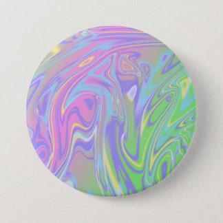 Bóton Redondo 7.62cm Botão das cores Pastel