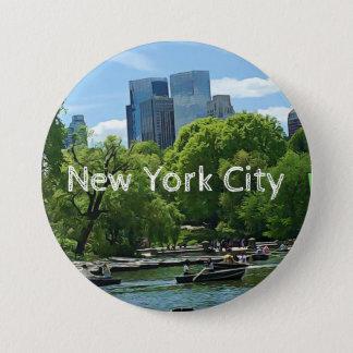 Bóton Redondo 7.62cm Botão de Canoers da Nova Iorque