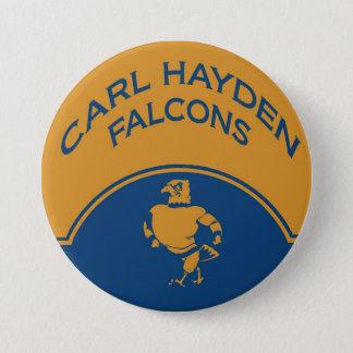 Bóton Redondo 7.62cm Botão de Carl Hayden