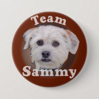 Bóton Redondo 7.62cm Botão de Sammy