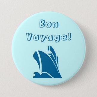 Bóton Redondo 7.62cm Botão do bon voyage