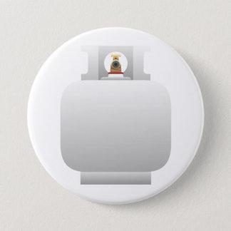 Bóton Redondo 7.62cm Botão do cilindro de gás
