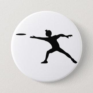 Bóton Redondo 7.62cm Botão do Frisbee