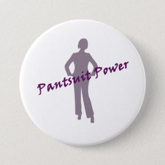 Bóton Redondo 7.62cm Botão do poder do Pantsuit para o nastywoman