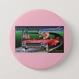 Bóton Redondo 7.62cm Botão do rosa de balanço BDRS