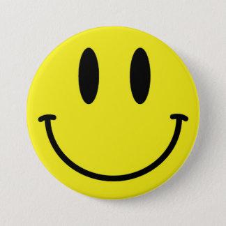 Bóton Redondo 7.62cm Botão do smiley face