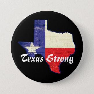 Bóton Redondo 7.62cm Botão forte de Harvey Texas do furacão