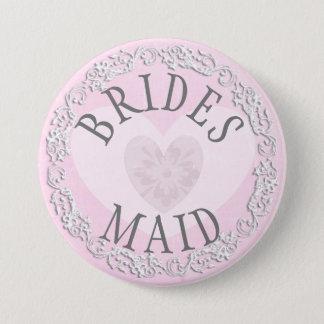 Bóton Redondo 7.62cm Botão Wedding do partido de chá de panela da dama