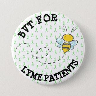 Bóton Redondo 7.62cm BVT para pacientes de Lyme