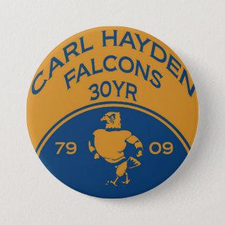 Bóton Redondo 7.62cm Carl Hayden 1 botão