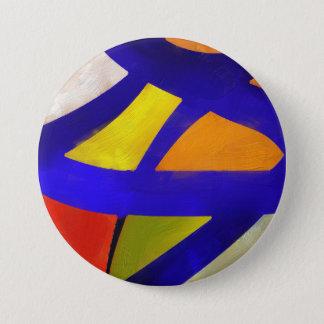 Bóton Redondo 7.62cm colorido