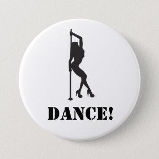 Bóton Redondo 7.62cm Dança!