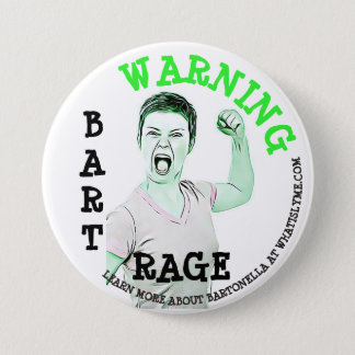 """Bóton Redondo 7.62cm Doença de Lyme, do """"botão da raiva baronete"""""""