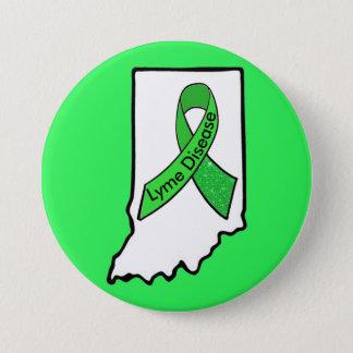 Bóton Redondo 7.62cm Doença de Lyme no botão da fita da consciência de