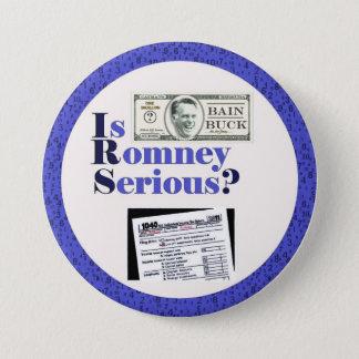 Bóton Redondo 7.62cm É Romney sério?