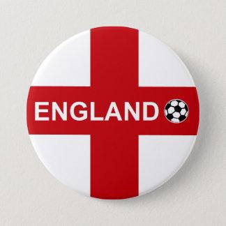 Bóton Redondo 7.62cm Futebol de Inglaterra