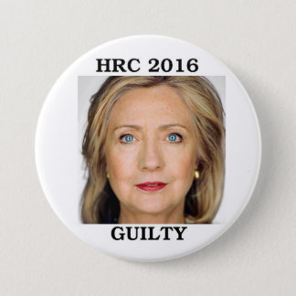 Bóton Redondo 7.62cm Hillary Rodham Clinton 2016