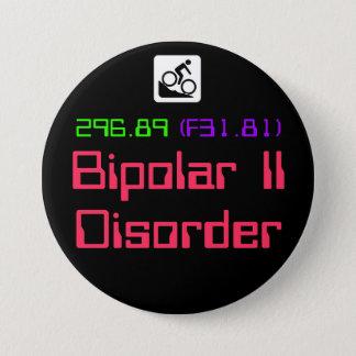 Bóton Redondo 7.62cm II botão bipolar da desordem DSM-5