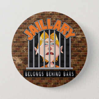 Bóton Redondo 7.62cm Jaillary Hillary para a prisão