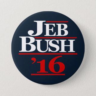 Bóton Redondo 7.62cm Jeb Bush 2016 botões da campanha