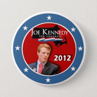 Bóton Redondo 7.62cm Joe Kennedy III para o congresso 2012