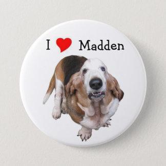 Bóton Redondo 7.62cm Madden o botão