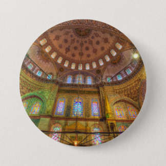 Bóton Redondo 7.62cm Mesquita azul Istambul