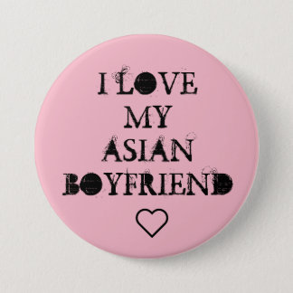 Bóton Redondo 7.62cm Mim ❤ meu namorado asiático