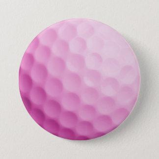Bóton Redondo 7.62cm Modelo personalizado da bola de golfe fundo