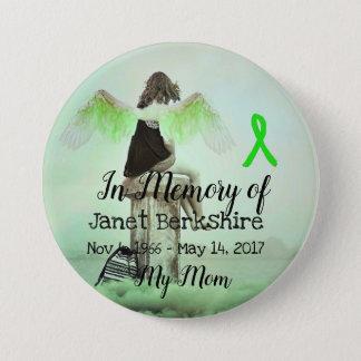 Bóton Redondo 7.62cm Na memória de meu botão do memorial de Lyme da