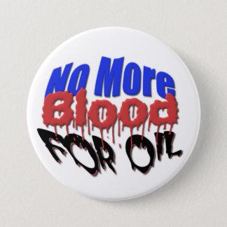 Bóton Redondo 7.62cm Não mais sangue para o óleo
