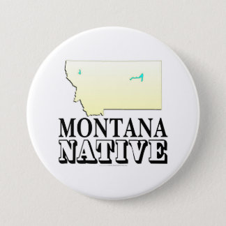 Bóton Redondo 7.62cm Nativo de Montana
