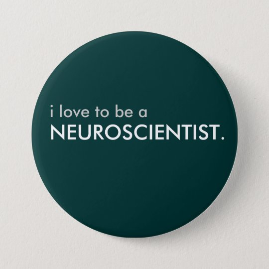 Bóton Redondo 7.62cm neuroscientist