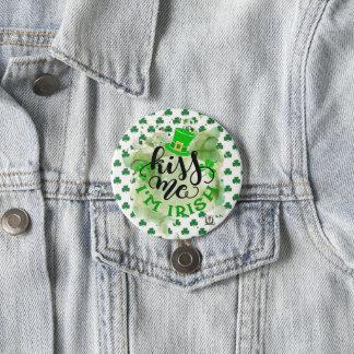 Bóton Redondo 7.62cm O botão 53086B3 do St Patrick do prazer de