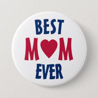 Bóton Redondo 7.62cm O melhor crachá do botão de Pinback da mamã nunca