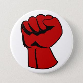 Bóton Redondo 7.62cm O poder às pessoas aumentou o botão do punho