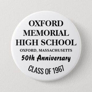 BÓTON REDONDO 7.62CM OXFORD 1967 ALTO