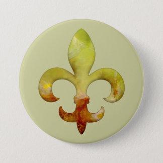 Bóton Redondo 7.62cm Pedra 4 do falso de Fleur