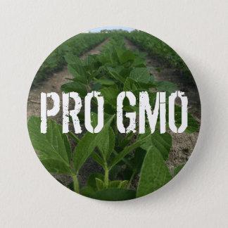 Bóton Redondo 7.62cm Pro botão de GMO