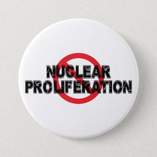 Bóton Redondo 7.62cm Proliferação nuclear da proibição