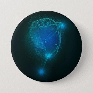 Bóton Redondo 7.62cm Rosa do azul