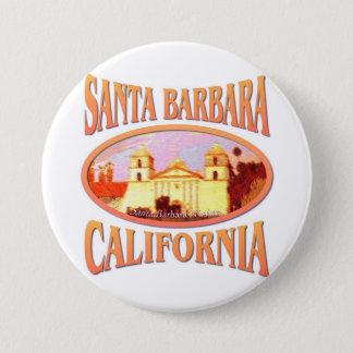 Bóton Redondo 7.62cm Santa Barbara Califórnia