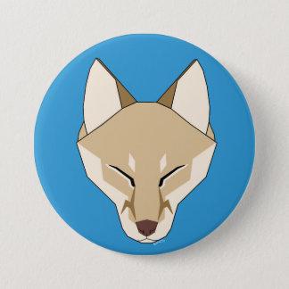 Bóton Redondo 7.62cm Sindaj o botão do Fox