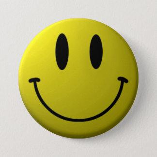 Bóton Redondo 7.62cm Smiley face