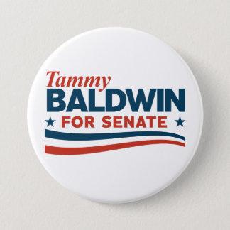 Bóton Redondo 7.62cm Tammy Baldwin