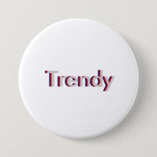 """Bóton Redondo 7.62cm Um design de texto tridimensional """"na moda"""" da"""